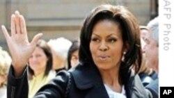 Мишел Обама го посети Хаити