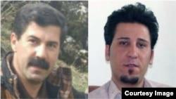 Mokhtar Asadi, left, a member of the Kurdistan TeachersAssociation, and environmentalist Sirwan Ghorbani were detained recently in Iran, rights groups report.