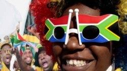 Warga Afrika Selatan bangga menjadi tuan rumah Piala Dunia.