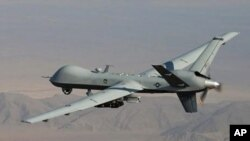 US drone (file photo)