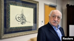 U.S. based cleric Fethullah Gulen at his home in Saylorsburg, Pennsylvania, U.S. July 29, 2016.