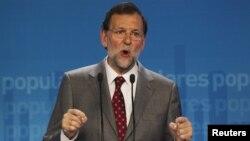 Thủ tướng Tây Ban Nha Mariano Rajoy vận động để kế hoạch tài trợ được EU chấp thuận