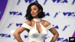 Cardi B at 2017 MTV Video Music Awards