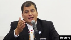 Tổng thống Rafael Correa của Ecuador