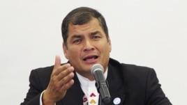 Ecuador se prepara para los comicios del próximo domingo, en los que Rafael Correa busca la reelección.