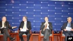 大西洋理事會一場有關美國與台海未來發展的研討會中專家討論美國與台海情勢未來發展