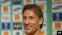 Hervé Renard, sélectionneur du Maroc, 7 février 2015.