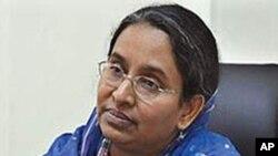 بنگلہ دیش کی وزیرِ خارجہ دیپو مونی