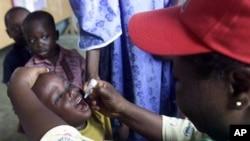 Mai bada allurar polio