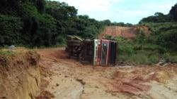 Chuvas interrompem comunicação terrestre entre Luanda e centro-sul de Angola - 2:04