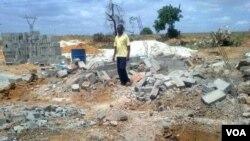 Anteriores demolições em Viana