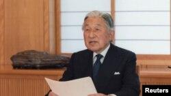 آکیهیتو امپراتور ۸۲ ساله ژاپن