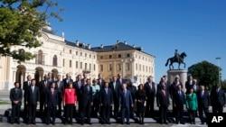 Các nhà lãnh đạo thế giới dự hội nghị thượng đỉnh G20