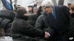Državni Sekretar Kerry u Kijevu, 4. marta 2014.