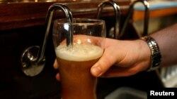 Točeno pivo (ilustracija)