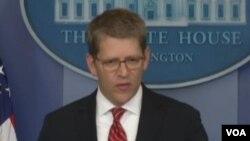 美國白宮發言人卡尼(VOA視頻截圖)