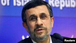 마무드 아마디네자드 전 이란 대통령.
