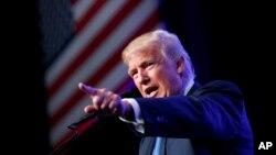 美國共和黨總統候選人川普