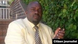 Presidential candidate Kisinoti Mukwazhe