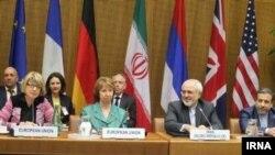 Para wakil dari Iran dan enam negara kuat dunia mneghadiri pembicaraan nuklir Iran di Wina, Rabu (14/5).
