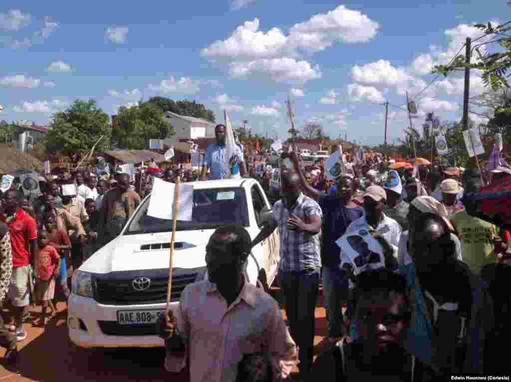Moçambique Eleições 2014: Campanha de Daviz Simango (MDM)