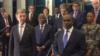 Alpha Barry, ministre des Affaires étrangères du Burkina Faso à la fin des travaux, à Ouagadougou, le 24 mai 2019. (VOA/Lamine Traoré)