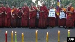 Tibetliklar mahrumlarni xotirlamoqda
