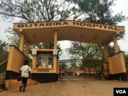 Although seeking mental health care is still highly stigmatized, hundreds enter Butabika daily for outpatient treatment. Inside, the hospital is far over capacity with 842 patients. (L. Paulat/VOA)