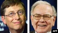 Ông Buffett và ông Gates, hai trong số những người giàu nhất thế giới