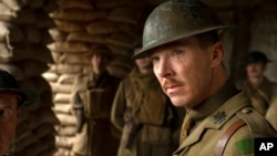 """Cuplikan adegan film """"1917"""" yang berkisah tentang Perang Dunia I. (Foto: Universal Pictures via AP)"""