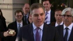 Trump y Acosta, de nuevo, bajo el mismo techo