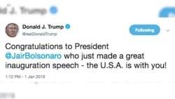 Трамп поздравил Болсонару