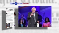 VOA60 Election -LAT: Bernie Sanders became more confrontational with front-runner Hillary Clinton