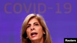 Комісар ЄС з питань охорони здоров'я Стелла Киріакідес