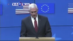 VOA60 America - Pence Voices Staunch US Support for NATO Alliance