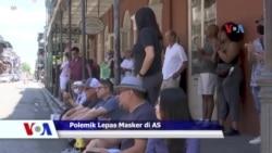 Sapa Dunia VOA: Polemik Pelonggaran Pemakaian Masker di AS