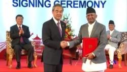 中尼簽署20項協議 或可稍減印度對尼泊爾的影響力