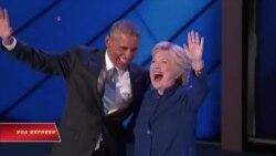 TT Obama kêu gọi cử tri Mỹ ủng hộ bà Hillary Clinton