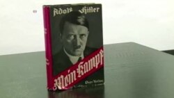 히틀러 저서 '나의 투쟁' 재출간 논란