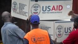 反映美国政府政策立场的社论:美国帮助非洲国家抗疫