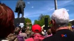 2014-04-28 美國之音視頻新聞: 烏克蘭分離主義分子繼續集會
