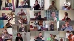 """მსოფლიოს მუსიკოსები მხარს უჭერენ კამპანიას """"დარჩი სახლში"""""""