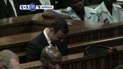 VOA60 Afirka: Shari'ar Oscar Pistorius, Afirka ta Kudu, Satumaba 11, 2014