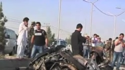 自杀爆炸手在阿富汗首都附近袭击外国人