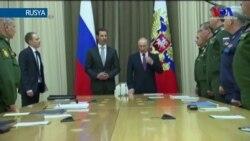 Putin ve Esat Soçi'de Görüştü