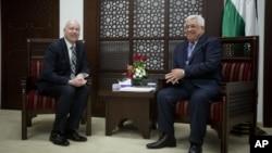 آقای گرینبلات در ماههای اخیر مذاکراتی با طرفین اسرائیلی و فلسطینی داشته است.