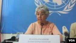 联合国副人权高级专员潘谢里