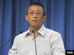 台湾在野党国民党副发言人胡文琦