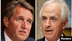 Сенатори-республіканці Джефф Флейк і Боб Коркер