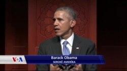 وتاری سەرۆک ئۆباما لە مزگەوتی ڕەحمە